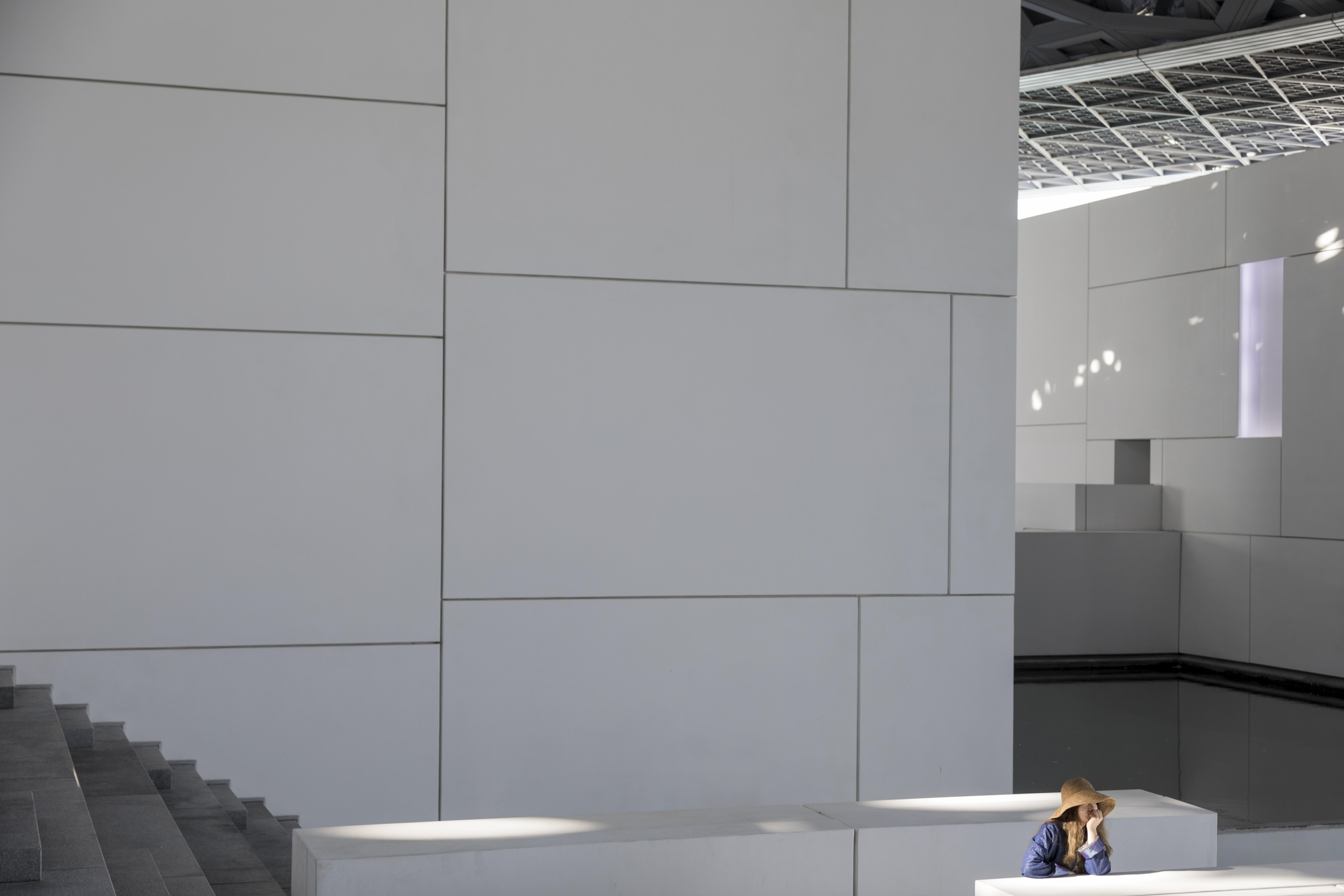 architecture photography, Jean nouvel Abu Dhabi Louvre Museum, UAE
